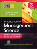 Cover image of Introduction to Management Science (SEI): A Modeling and Case Studies Approach with Spreadsheets