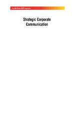 Cover image of Strategic Corporate Comm