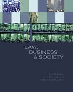 Cover image of Law, Business, and Society