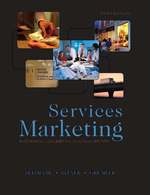 Cover image of Services Marketing