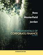 Cover image of Fundamentals of Corporate Finance Standard Edition