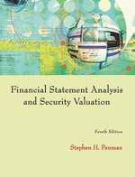 Cover image of Financial Statement Analysis and Security Valuation