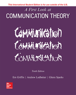 Cover image of EBOOK A FIRST LOOK AT COMMUNICATION THEORY