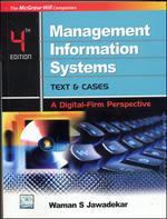 Cover image of Management Information Systems: Text & Cases