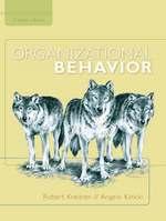 Cover image of Organizational Behavior
