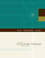 Cover image of Essentials of Corporate Finance