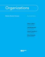 Cover image of Organizations: Behavior, Structure, Processes