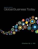 Cover image of Global Business Today