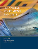Cover image of FINANCIAL STATEMENT ANALYSIS9E