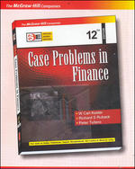 Cover image of CASE PROBLEMS IN FINANCE (CD-ROM)12E-SIE