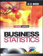Cover image of BUSINESS STATISTICS 3/E