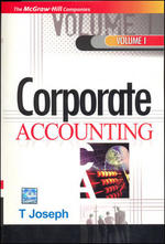 Cover image of CORPORATE ACCOUNTING - VOL-1