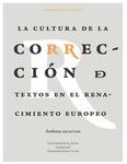La cultura de la corrección de textos en el Renacimiento europeo