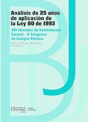 Análisis de 25 años de aplicación de la Ley 80 de 1993