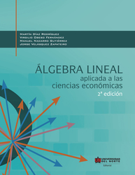 Álgebra lineal aplicada a las ciencias económicas 2da edición
