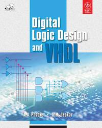 Cover image of Digital Logic Design and VHDL