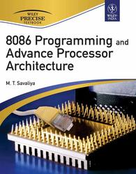 Cover image of 8086 Programming and Advance Processor Architecture