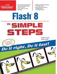 Cover image of Flash 8 in Simple Steps