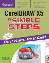 Cover image of CorelDraw X5 in Simple Steps
