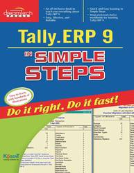 Cover image of Tally .ERP 9 in Simple Steps