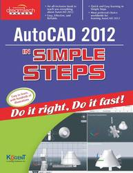 Cover image of AutoCAD 2012 in Simple Steps