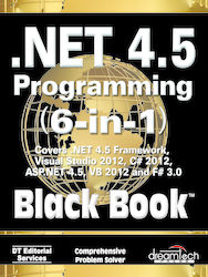Cover image of .NET 4.5 Programming 6-in-1, Black Book