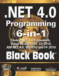 Cover image of .NET 4.0 Programming (6-in-1) Black Book
