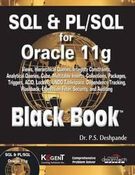 Cover image of SQL & PL / SQL for Oracle 11g Black Book