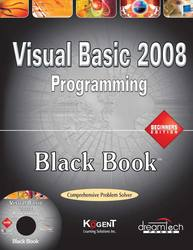 Cover image of Visual Basic 2008 Programming Black Book, Beginners ed