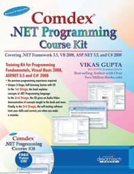 Cover image of Comdex .NET Programming Course Kit: Revised & Upgraded
