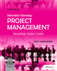 Information Technology Project Management, 4ed, ISV