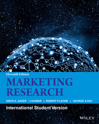 Cover image of Marketing Research, 11ed, ISV