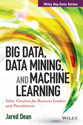 Cover image of Big Data, Data Mining and Machine Learning