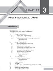 Cover image of CHAPTER 3: FACILITY LOCATION AND LAYOUT
