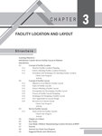 CHAPTER 3: FACILITY LOCATION AND LAYOUT